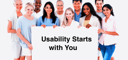 The Usability People -- Usability Starts with You