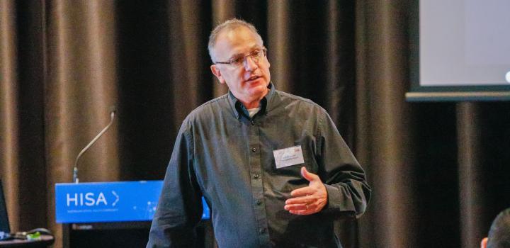 CXO Bennett Lauber during a Human-centered Design workshop