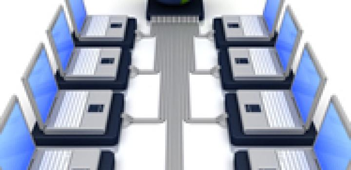 Connected computers to represent interoperability in healthIT